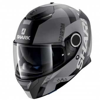 Casque Full Face Shark Spartan Apics Mat KSA