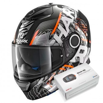 Casque Full Face Shark Spartan Carbon Daksha DOW