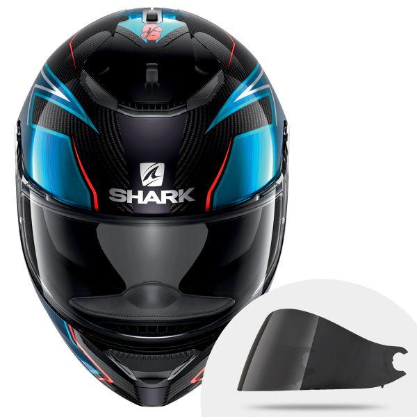 Helmet Shark Spartan Carbon Guintoli Dub Dark Smoke Visor Ready To