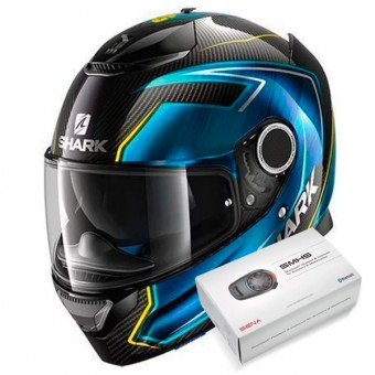 Casque Full Face Shark Spartan Carbon Replica Guintoli DBY