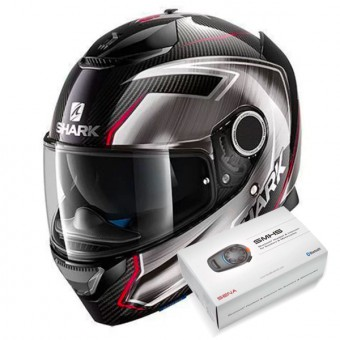 Casque Full Face Shark Spartan Carbon Replica Guintoli DUR