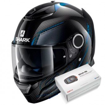 Casque Full Face Shark Spartan Carbon Silicium DBA