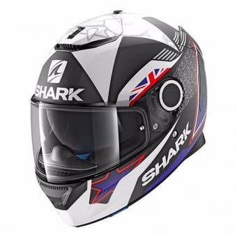 Casque Full Face Shark Spartan Replica Redding 2017 Mat KBW