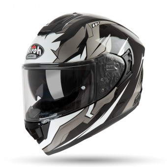 Casque Full Face Airoh ST 501 Bionic Chrome White