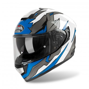 Casque Full Face Airoh ST 501 Bionic Chrome Blue