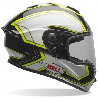 Casque Full Face Bell Star Pace White