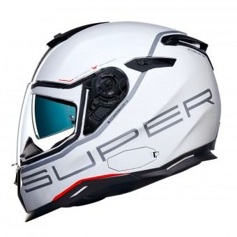 Casque Full Face Nexx SX.100 Superspeed White