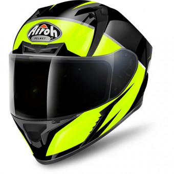 Casque Full Face Airoh Valor Eclipse Yellow