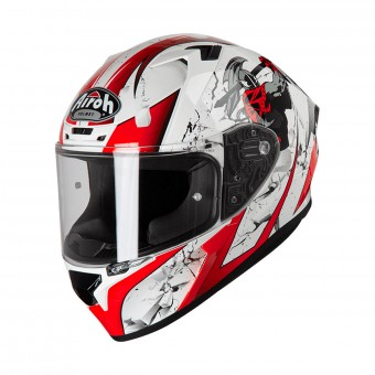 Casque Full Face Airoh Valor Jackpot Red White