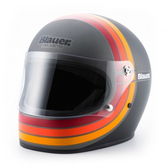 Casque Full Face Blauer Vintage 80 s Grey
