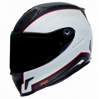 Casque Full Face Nexx X.R2 Carbon White