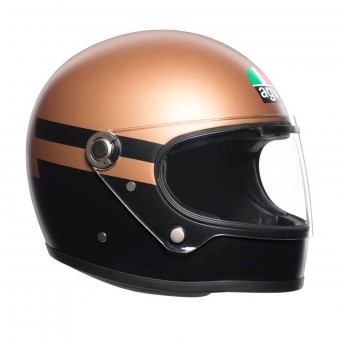 Casque Full Face AGV X3000 Superba Gold Black