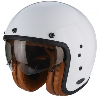 Casque Open Face Scorpion Belfast Luxe White