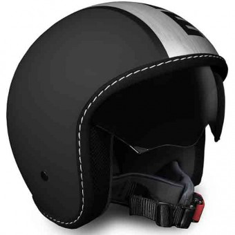 Casque Open Face Momo Design Blade Black Matt Satin