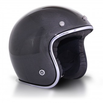 Casque Open Face GPA Carbon Legend Carbon