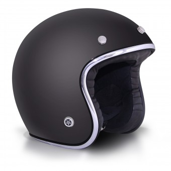 Casque Open Face GPA Carbon Legend Matt Black