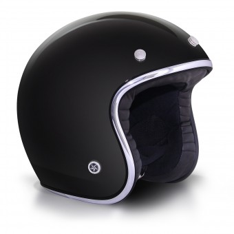 Casque Open Face GPA Carbon Legend Black