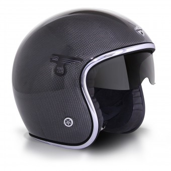 Casque Open Face GPA Carbon Solar Carbon