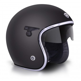 Casque Open Face GPA Carbon Solar Matt Black