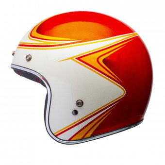 Casque Open Face Bell Custom 500 Copperhead Orange