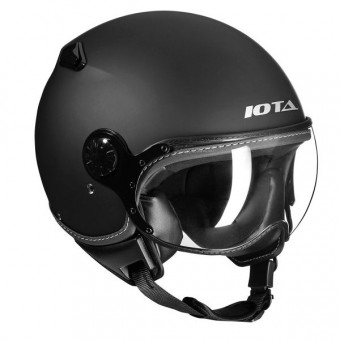 Casque Open Face IOTA DP04 Matt Black