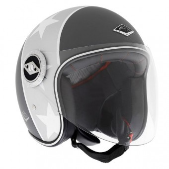 Casque Open Face Edguard Dirt Ed Visor Black N'Roll Matt