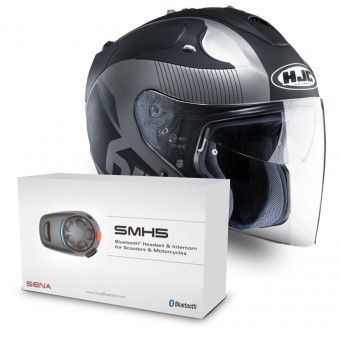 Casque Open Face HJC FG-Jet Acadia MC5F