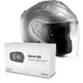 Pack FG-Jet Grey + Sena SMH5 Bluetooth Kit