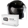 Pack FG-Jet Black + Sena SMH5 Bluetooth Kit