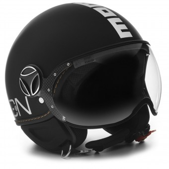 Casque Open Face Momo Design FGTR Evo 3 Matt Black
