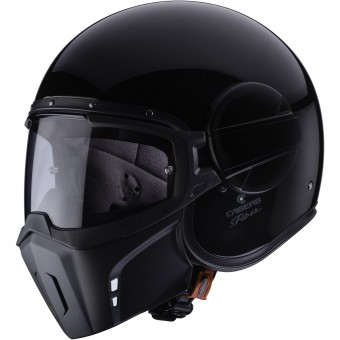Casque Open Face Caberg Ghost Black