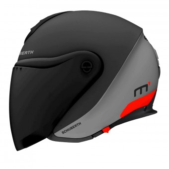 Casque Open Face Schuberth M1 Gravity Red