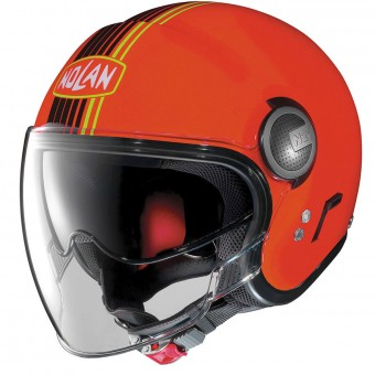 Casque Open Face Nolan N21 Visor Joie De Vivre Led Orange 39