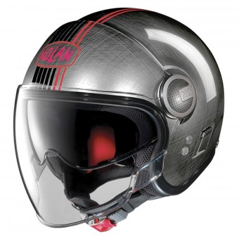Casque Open Face Nolan N21 Visor Joie De Vivre Scratched Chrome 44