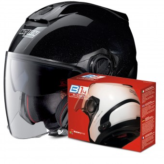 Casque Open Face Nolan N40 5 Special N-Com Black 12