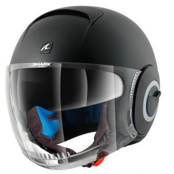 Casque Open Face Shark Nano Blank Mat KMA