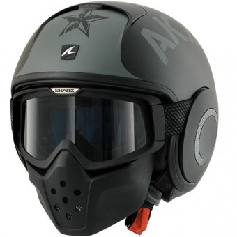 Casque Open Face Shark Drak Soyouz KSK
