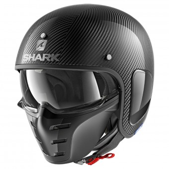 Casque Open Face Shark S-Drak Blank Carbon Skin DSK