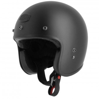 Casque Open Face Astone Vintage Bellair Matt Black