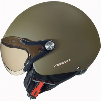Casque Open Face Nexx X60 Vision Plus Military Matt Green