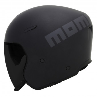 Casque Open Face Momo Design Aero Black Mat Anthracite