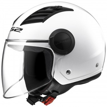 Casque Open Face LS2 Airflow White Long OF562