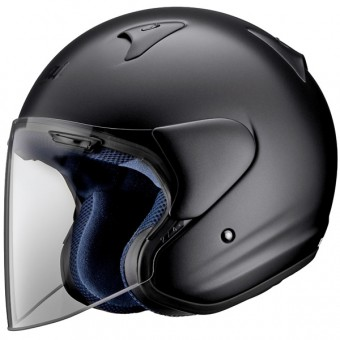 Casque Open Face Arai SZ-F Black Frost
