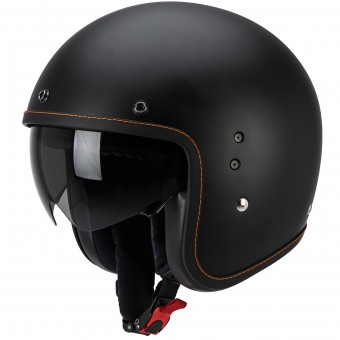 Casque Open Face Scorpion Belfast Matte Black