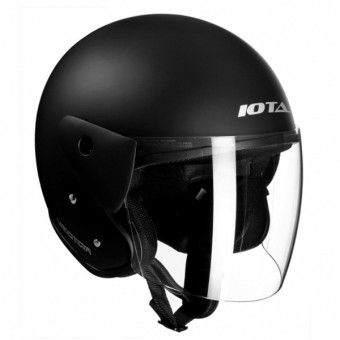 Casque Open Face IOTA Vector Matt Black