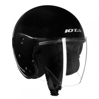 Casque Open Face IOTA Vector Black