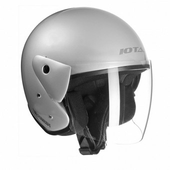 Casque Open Face IOTA Vector Silver