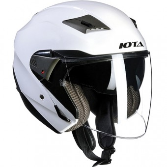 Casque Open Face IOTA Wick White