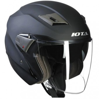 Casque Open Face IOTA Wick Matt Black