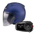 Pack SZ-R Vas Matt Blue + Kit Bluetooth Sena 5S Solo